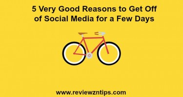 5 Very Good Reasons to Get Off of Social Media for a Few Days