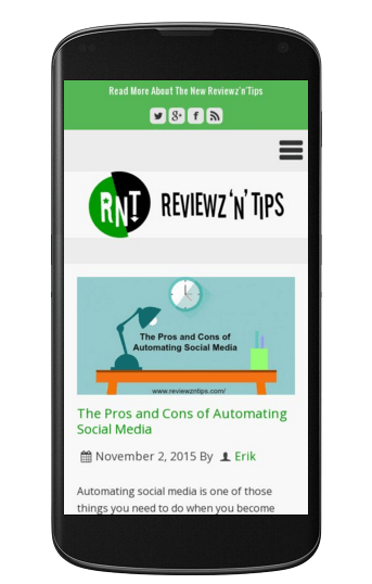 reviewzntips_com screenshot visited from smartphone