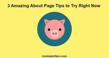 3 Amazing About Page Tips to Try Right Now