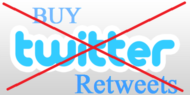 dont buy twitter retweets
