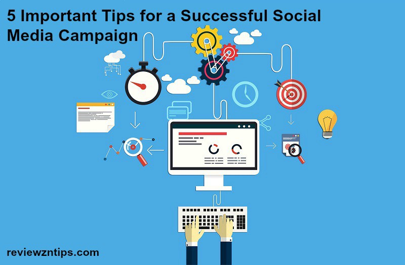 5 Important Tips for a Successful Social Media Campaign