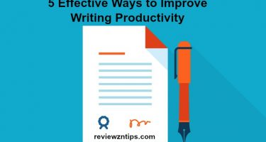 5 Effective Ways to Improve Writing Productivity